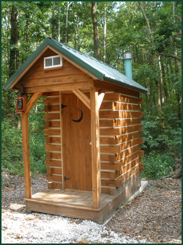 FREE HOME PLANS - OUTHOUSE BUILDING PLANS